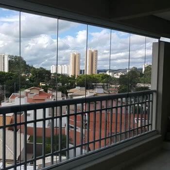 Varanda de Vidro em Valinhos - SP